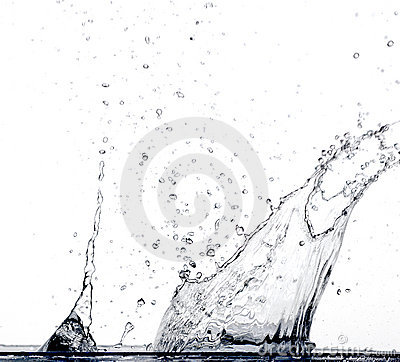 Free Water Splash Royalty Free Stock Photography - 2279697