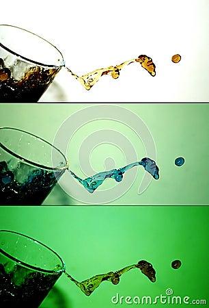 Free Water Splash [3] Royalty Free Stock Photo - 45185