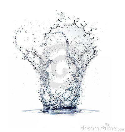 Free Water Splash Royalty Free Stock Photos - 37874058
