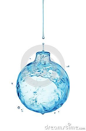 Free Water Splash Bauble Royalty Free Stock Image - 27149626