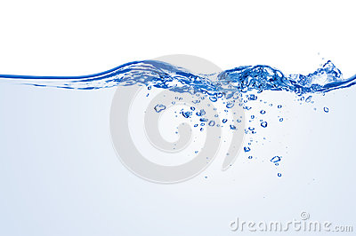 Water splash.