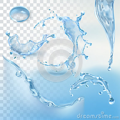 Free Water Splash Element Royalty Free Stock Photography - 60335547