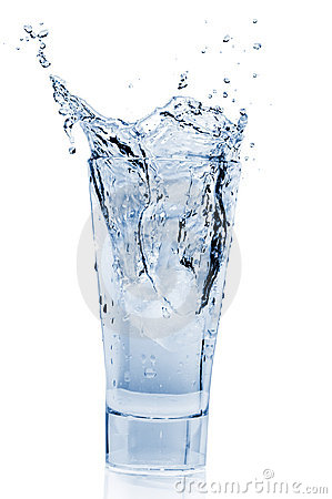 Free Water Splash In Glass Stock Images - 21693854