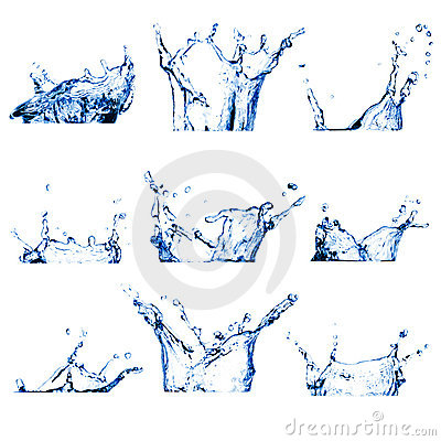 Free Water Splashes Royalty Free Stock Photography - 18970777