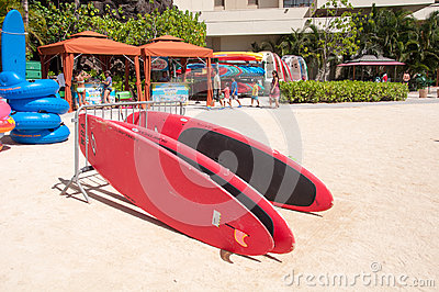 Water sport rentals Editorial Stock Image