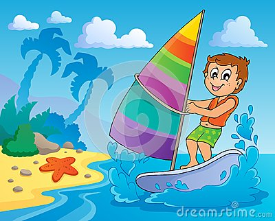 Water sport theme image 2