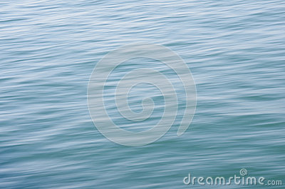 Water stream of the sea