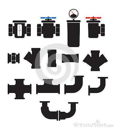 Water supply system elements