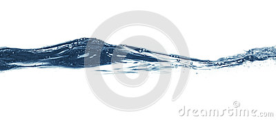 Water surface Isolated