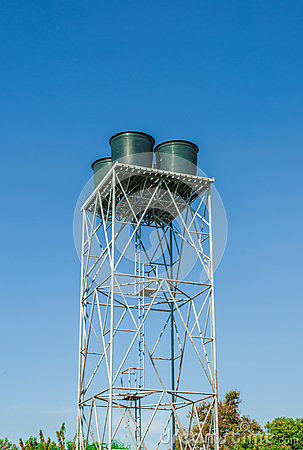 Water tank tower