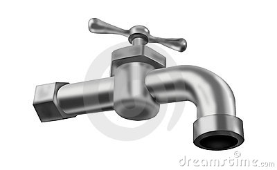 Water tap isolated faucet valve plumbing