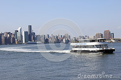 Water taxi Editorial Stock Image