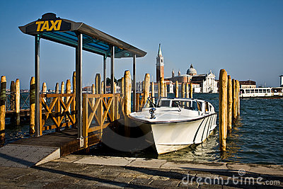 Water Taxi Stand, Venice