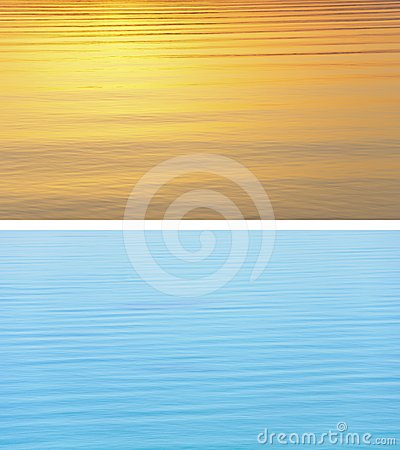 Water texture - Warm vs Cold
