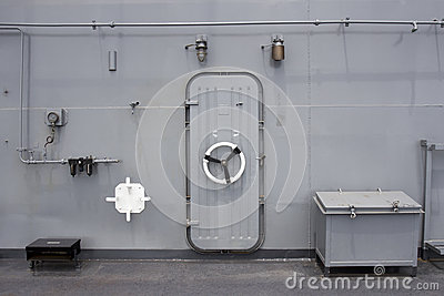 Water Tight Door On A Ship Stock Photo Image 31017760