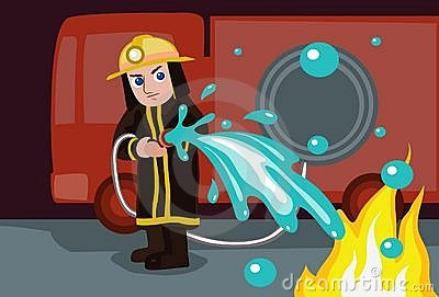 Water To Extinguish Fire