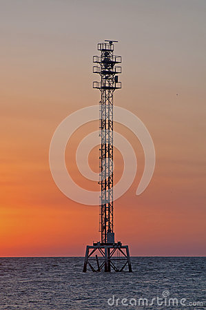 Free Water Tower At Sunset Stock Images - 78157614