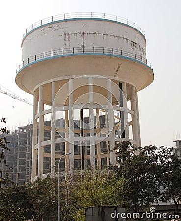 Water tower/tank/storage building
