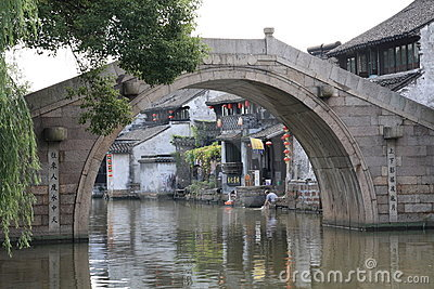 Water Town Xitang in Zhejiang of China