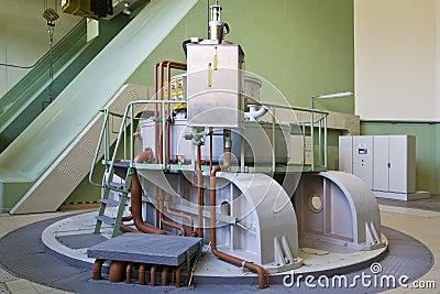 Water-turbine generator