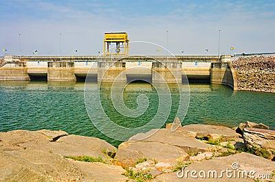 Water in Ubolrat dam, Thailand