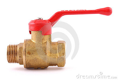 The water valve