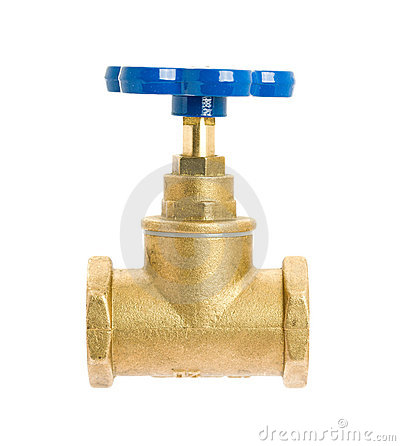 Free Water Valve Royalty Free Stock Photos - 18089098