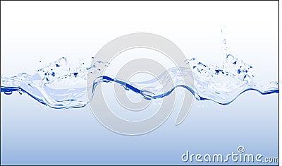 Water - vector