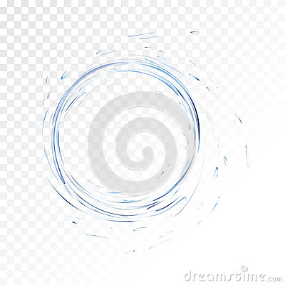 Free Water Vector Splash Isolated On Transparent Background. Blue Realistic Aqua Circle With Drops. Top View. 3d Illustration Stock Photos - 85676163