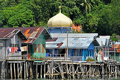 Water Village in Brunei