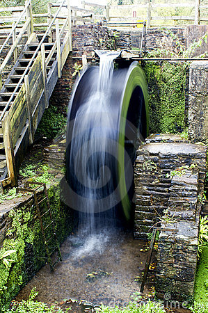 Water Wheel Blurred