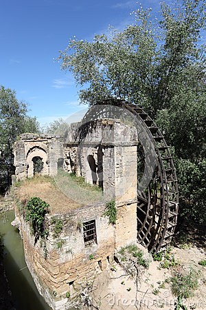 Water wheel in Cordoba, Spain