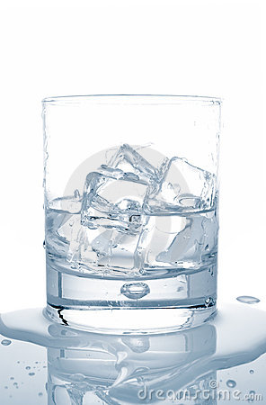 Free Water With Ice Cubes Royalty Free Stock Images - 2479039