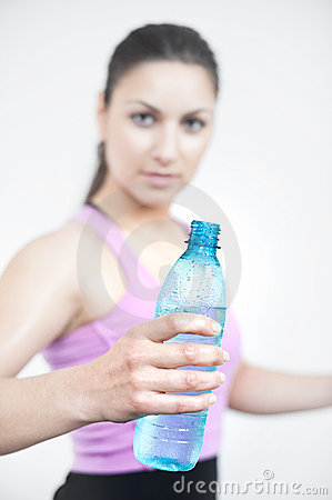 Water after workout
