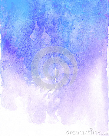 Free Watercolor Blue And Purple Background Flow Stock Photography - 81339682