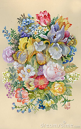 Watercolor Flower Collection: Flower
