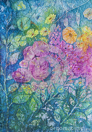 Watercolor: Flowers in Bloom