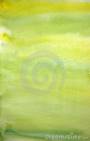 Watercolor lemon hand painted art background