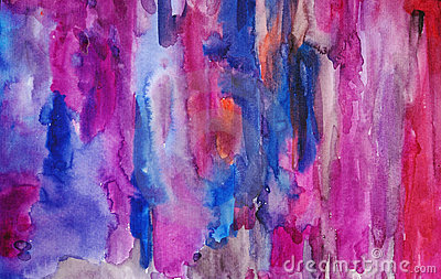 Watercolor multicoloured art background