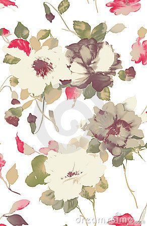 Free Watercolor Of Flower Stock Images - 12798864