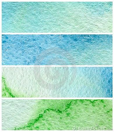 Watercolor paint backgrounds