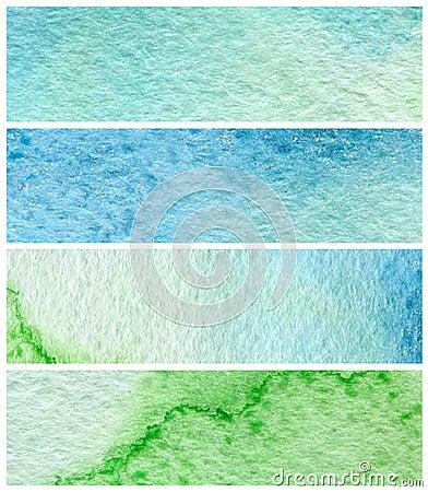 Watercolor paint backgrounds