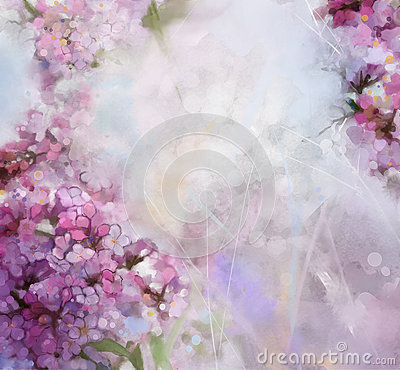 Free Watercolor Painting Pink Apricot Tree Flower Stock Photography - 54298382