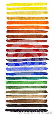 Watercolor spectrum