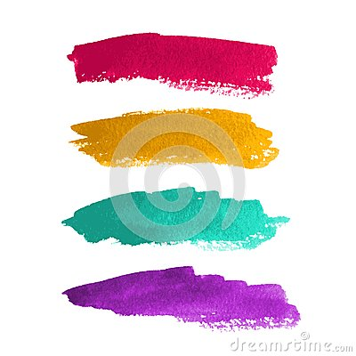 Free Watercolor Stripes Royalty Free Stock Photography - 31345017