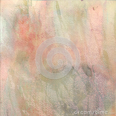 Watercolor textured background in pastel colors