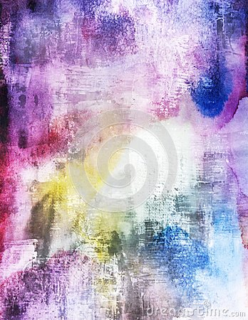 Free Watercolors Vibrant Grunge Scratched Splatters Wallpaper Stock Photos - 97622933
