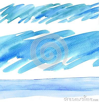 Watercolour design element