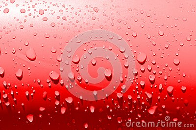 Waterdrops rouges simples