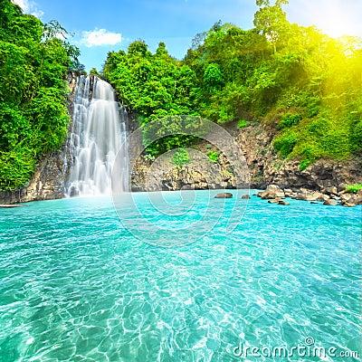 Free Waterfall Stock Photography - 12771652